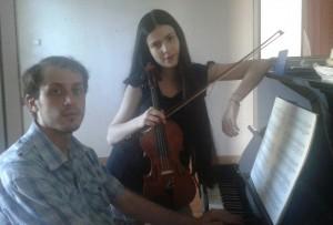 LUISA E FRANCESCO IZZICUPO duo violini pianoforte